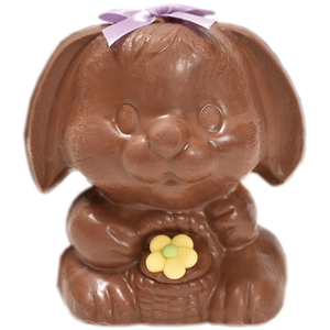 "4.25"" Milk Chocolate Easter Bunny # 6 - ""Flopsy"""