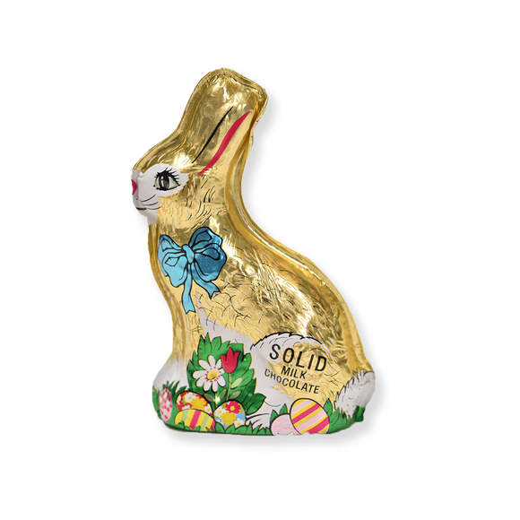 Milk Chocolate Solid Foiled Bunny (2.5 oz)