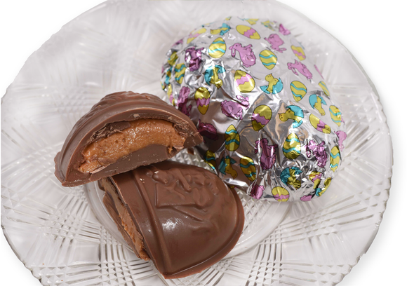 Milk Chocolate Big Foiled Peanut Butter Egg