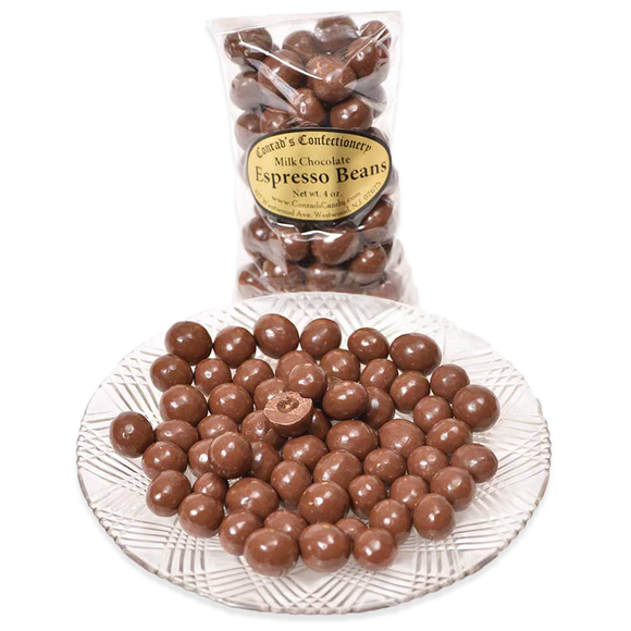 Milk Chocolate Espresso Beans- 4 oz bag