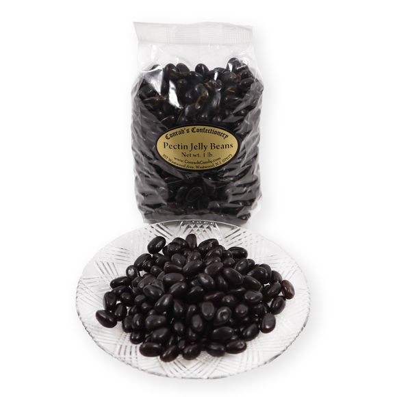 Licorice Pectin Jelly Beans
