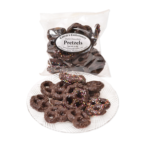 Dark Chocolate Mini Pretzels- 4 oz bag