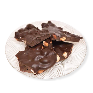 Dark Chocolate Almond Bark (Half Pound Box)