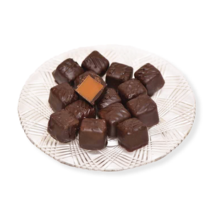 Dark Chocolate Caramels (Half Pound Box)