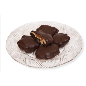 Dark Chocolate Cashew Turtles (Half Pound Box)