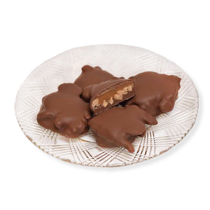 Milk Chocolate Cashew Turtles (Half Pound Box)