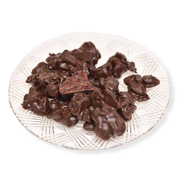 Dark Chocolate Cranberries (Half Pound Box)
