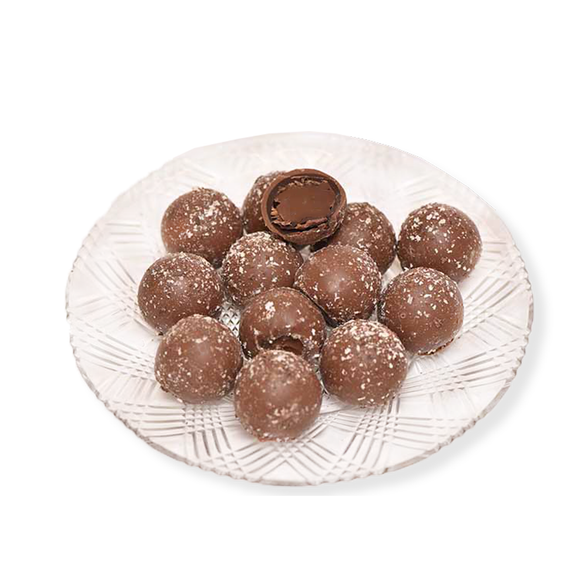 Milk Chocolate Cappuccino Truffles (Half Pound Box)