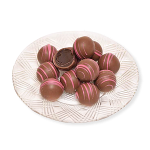 Milk Chocolate Raspberry Truffles (Half Pound Box)
