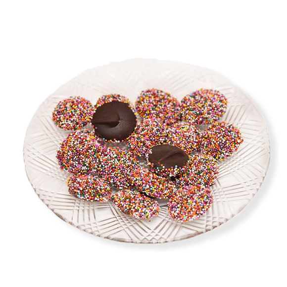 Dark Chocolate Non Pareils (Loose) (Half Pound Box)