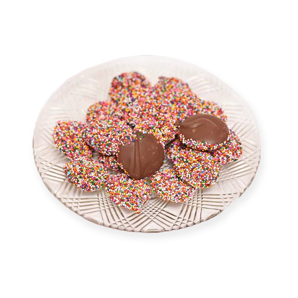 Milk Chocolate Non Pareils (Loose) (Half Pound Box)