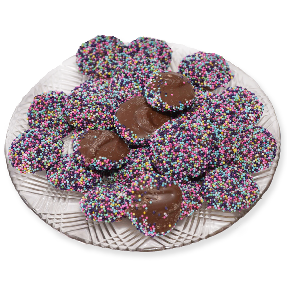 Milk Chocolate Easter Non Pareils (Loose) (Half Pound Box)