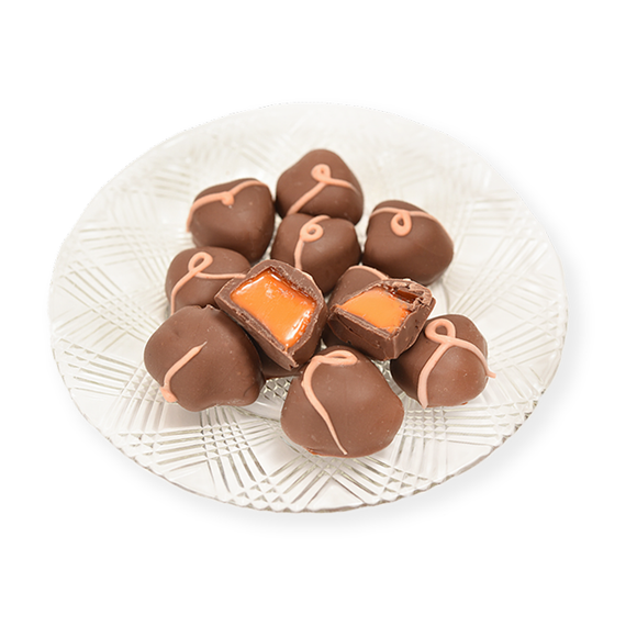 Milk Chocolate Orange Creams (Half Pound Box)
