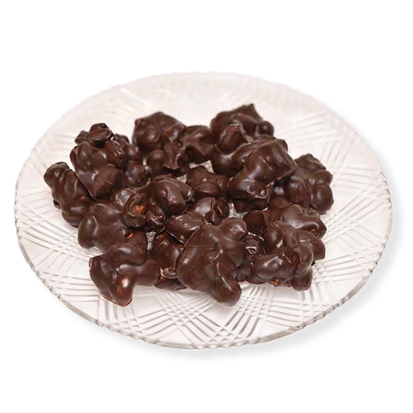 Dark Chocolate Peanuts (Half Pound Box)