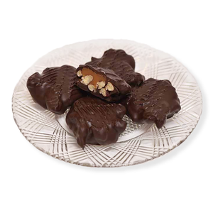 Dark Chocolate Pecan Turtles (Half Pound Box)