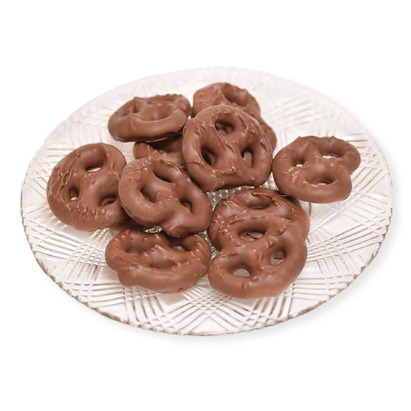 Milk Chocolate Pretzels (Half Pound Box)