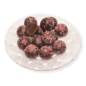 Dark Chocolate Black Forest Truffles (Half Pound Box)