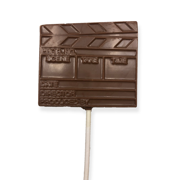 Milk Chocolate Clapboard Pop