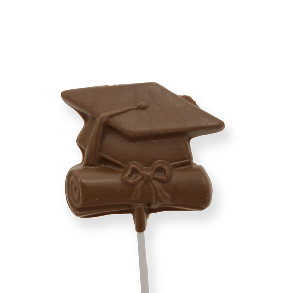 Milk Chocolate Graduation Lollipop