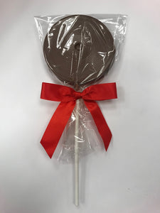 Milk Chocolate Round Lollipop