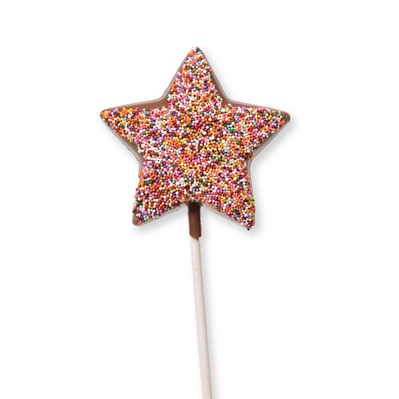 Milk Chocolate Magic Wand Lollipop