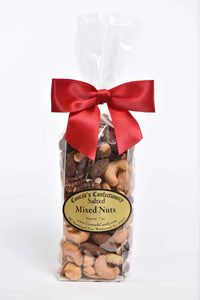 Bag of Salted Mixed Nuts in Flat Bottom Bag