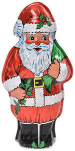 "Hollow Foiled Santa-7 1/2"" (8 oz net weight) - Conrad's Confectionery"