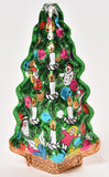"Hollow Foiled Christmas Tree 5""  (net weight 2.5 oz) - Conrad's Confectionery"