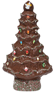 "19"" Milk Chocolate Huge Christmas Tree Model X-25 - Conrad's Confectionery"
