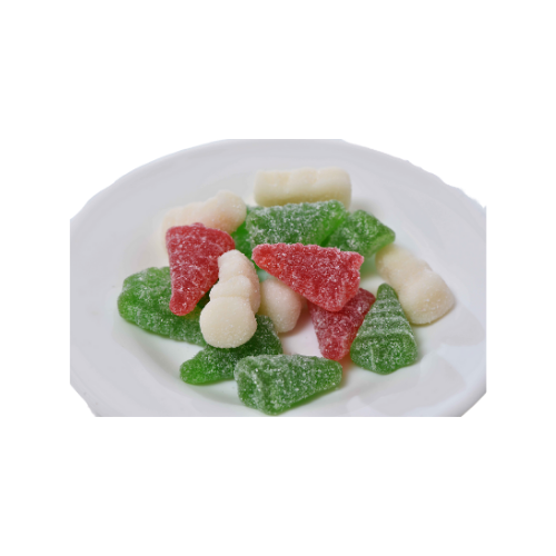 Gummi Snowmen and Trees- 4 oz bag