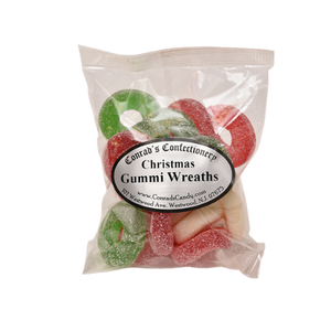 Christmas Gummi Wreaths- 4 oz bag