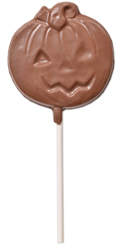 Milk Chocolate Jack O Lantern Pop