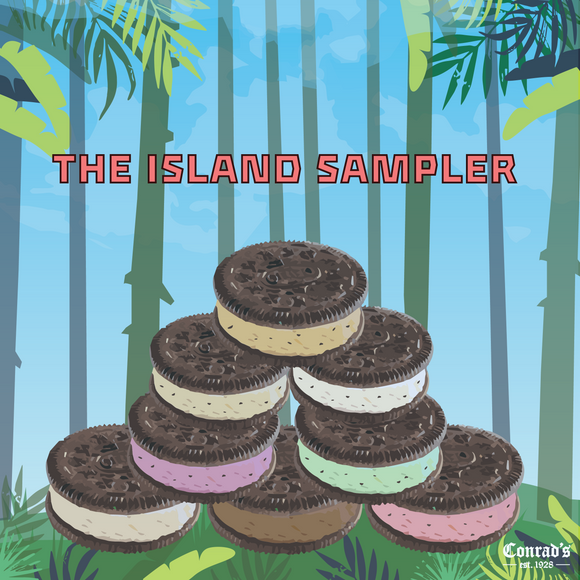 Ice Cream Sandwich Island Sampler