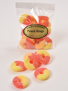Peach Rings - Conrad's Confectionery