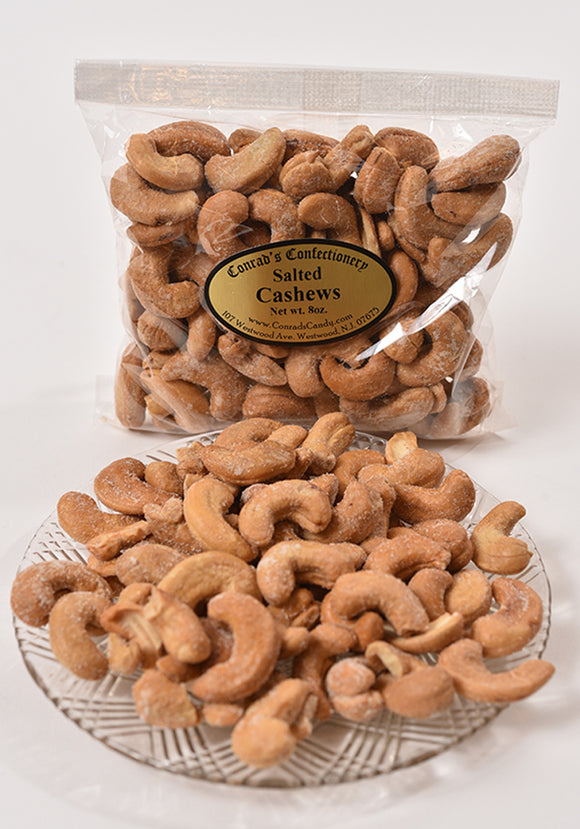 Bag of Salted Cashews - Conrad's Confectionery