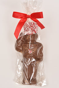 "6"" Milk Chocolate Toy Soldier"