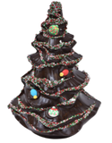 "9"" Dark Chocolate Large Christmas Tree Model X-105"