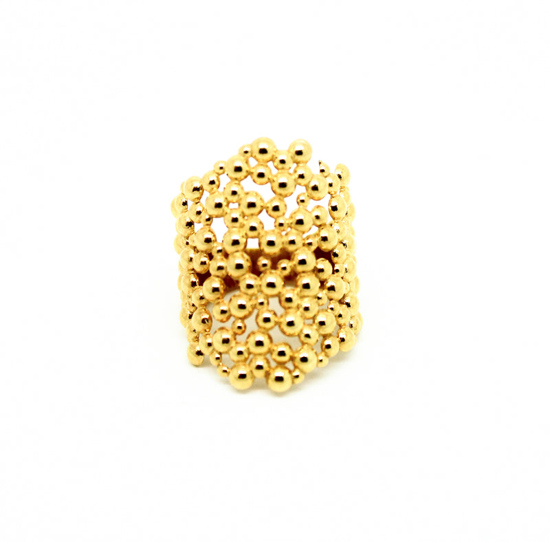 Anillo bubbles cuff - Nanna Folk