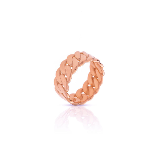Anillo Marcia chain rose