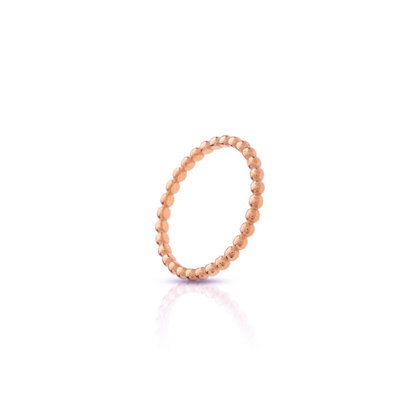 Anillo stacking bubbles rose