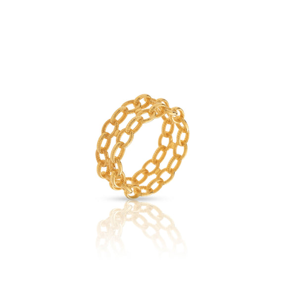 Anillo Ingrid double chain