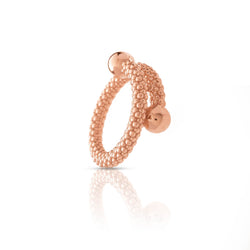Anillo tiny bubbles rose