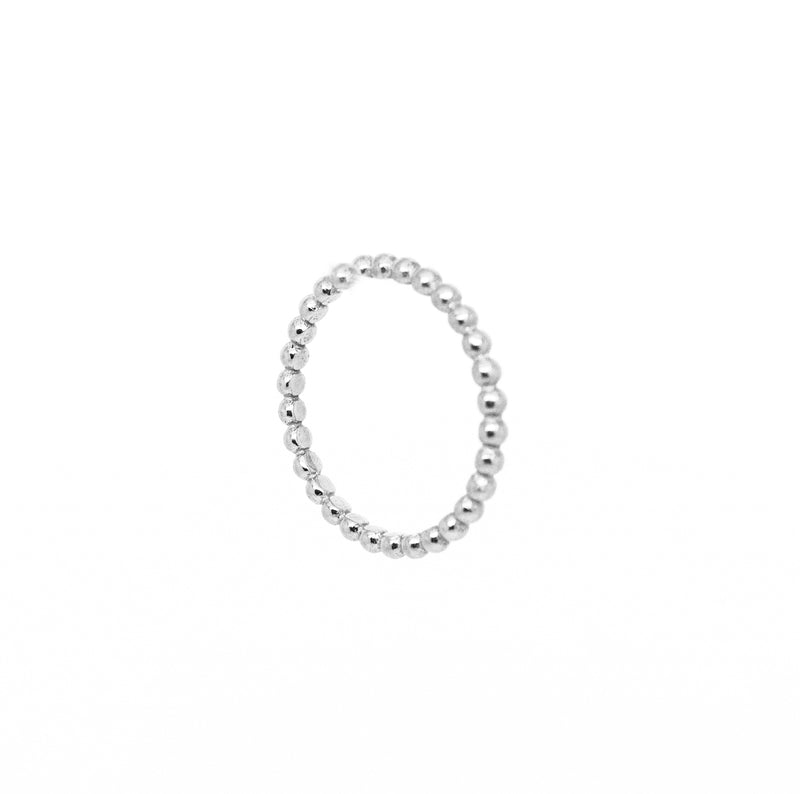 Anillo stacking bubbles silver - Nanna Folk