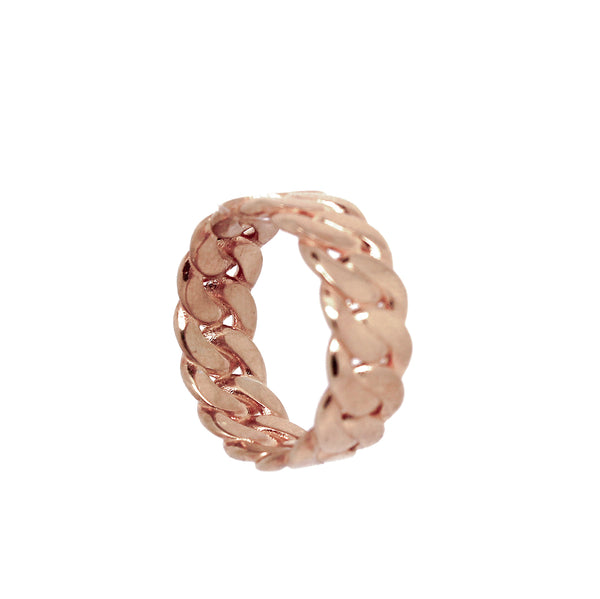Anillo Marcia chain rose - Nanna Folk
