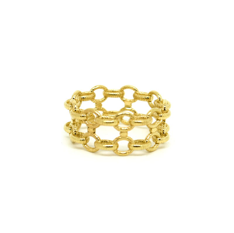 Anillo Ingrid double chain - Nanna Folk