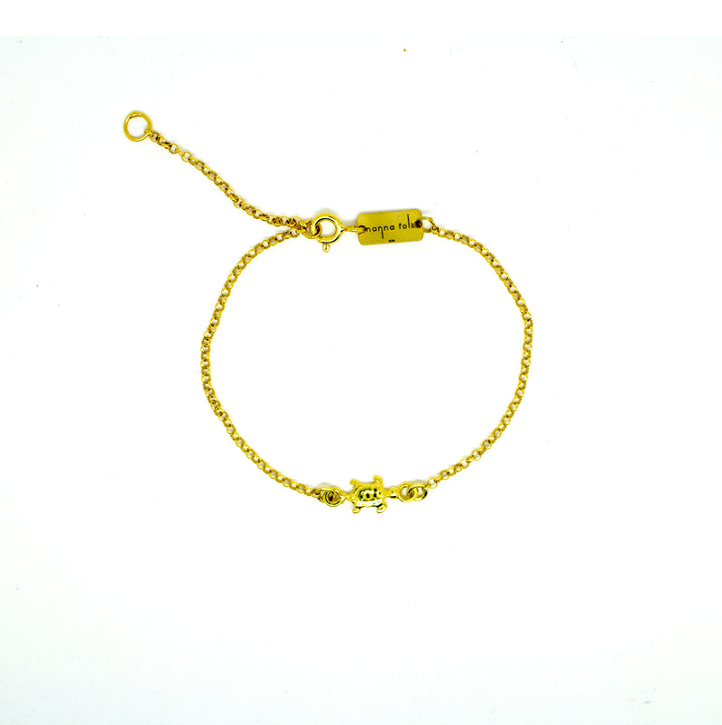 Pulsera Tiny turtle - Nanna Folk