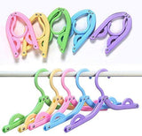 Portable Folding Clothes Hangers (10pc)