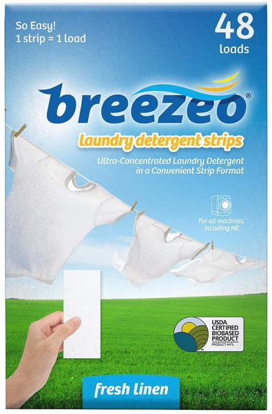 Breezeo Laundry Detergent Strips