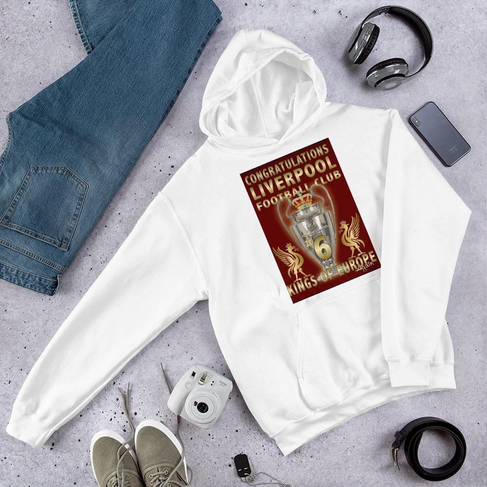 Liverpool 2019 Trophy Hooded Sweatshirt