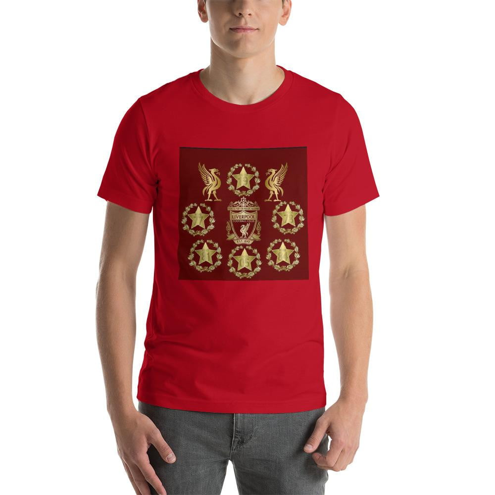 Red Champions Short-Sleeve Unisex T-Shirt